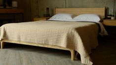 Seersucker Style Bedspread | Sand Colour | Natural Bed Company Bed Company, Quilted Bedspreads, Ribbon Design, Seersucker, Bed Spreads, Linen Bedding, Contemporary, Modern, Quilt Patterns