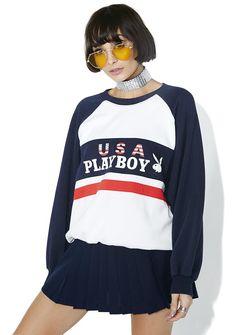 Vintage Playboy Crewneck Sweater
