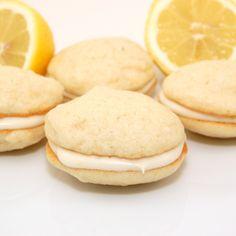 Lemon Whoppie Pies-for the love of lemon!
