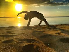 (Taken last week)  Moments before my phone swam in the sea.  #yoga #yogadudes #yogaformen #beach #philippines #love #sunset Photo credit: @oshpastorez