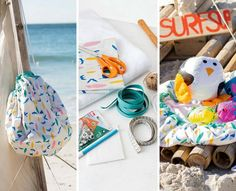 Read the article 'DIY: Beach Towel and Bag' in the BurdaStyle blog 'Daily Thread'.
