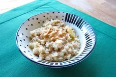 Make Winter Warmer With Apple and Peanut Butter Oatmeal