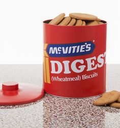 What's better than a biscuit with your cuppa? A whole barrel of biscuits with your cuppa of course! If you're a mega fan of old skool biscuits then look no further than this awesome barrel, paying homage to the King of Biscuits, the classic digestive!