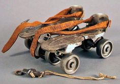 Skates with skate key. Many joyfully hours I spent on these.