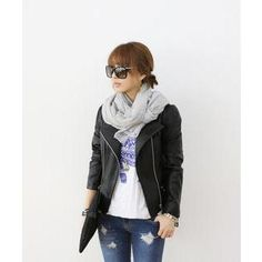 Buy 'DANI LOVE – Stand-Collar Faux-Leather Rider Jacket' with Free International Shipping at YesStyle.com. Browse and shop for thousands of Asian fashion items from South Korea and more!
