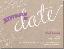 handwritten kraft paper Invitations & Announcements