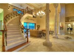 This is an estate in florida...no it's not a castle or home from a movie, but it's still pretty darn luxurious!
