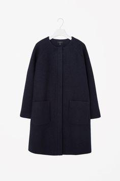 COS | A-line wool coat