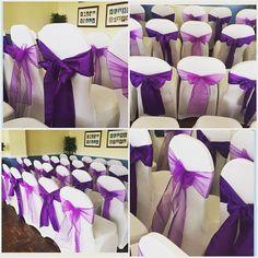 #nicheevents #nichewedding #nichestylists #bride #bridetobe #brideideas #brideinspiration #chaircovers  #ceremonysetup #engaged #follow4follow #followforfollow #gettingmarried #purplewedding #igers #instapic #instawed #instagood #instalike #instadaily #li