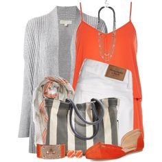 A fashion look from July 2014 featuring MICHAEL Michael Kors cardigans, River Island tops and Abercrombie & Fitch leggings. Browse and shop related looks.