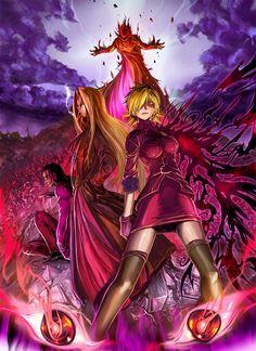 Victoria, Integral, Alucard #Hellsing