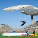 Culminó el torneo Nacional de Paracaidismo, Poncho 2014