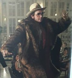 John Movie, Taron Edgerton, Rocketman Movie, Mens Fur, Fluffy Coat, Richard Madden, Kings Man, Grown Man, My Soulmate