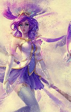 League of Legends Official Star Guardian Janna Tee