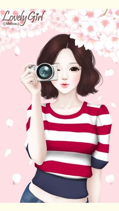 Image uploaded by GLen =^● 。●^=. Find images and videos about lovely girl and Enakei on We Heart It - the app to get lost in what you love. Lovely Girl Image, Girly M, Cute Cartoon Girl, Cute Girl Drawing, Cute Girl Wallpaper, Beautiful Fantasy Art, Girl Sketch, Kawaii, Girly Pictures