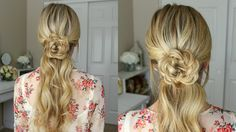 Flower Embellished Ponytail | Missy Sue