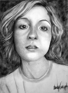 Charcoal Portrait 2 by Ganiggle on deviantART