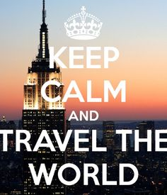 I've many dreams and one of them is to travel the world like I've already mentioned. I feel one limits their self if they stay in one place their entire life. The world has so much to offer.