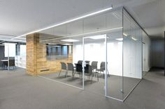 Removable frameless glass partition Glas Marte GmbH