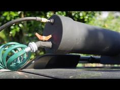 H2OT - Roof top, pressurized, solar heated shower/sprayer using ABS pipe - YouTube