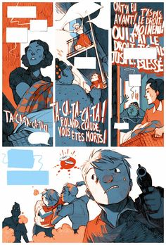 Julie Rocheleau ::: Illustration ::: Bande Dessinée