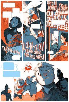 Julie Rocheleau ::: Illustration ::: Bande Dessinée