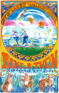 Bike A Thon for City of Lakes Waldorf School at Lake Harriet Bandshell!