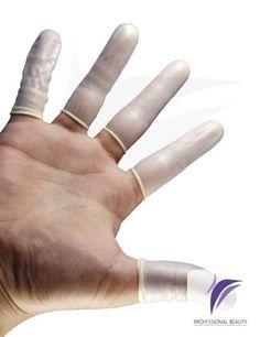 Guantes Dedo x70: Guante de latex facil de usar en procedimientos esteticos para la extraccion de comedones.