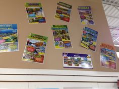 North Star: Biomes.  Bring the look of graphic novels into the classroom!