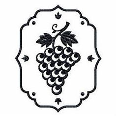 Grapes Wine Bag Design