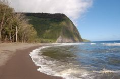"Muliwai Trail – Hawaii: Named ""Best Hike in Hawaii"" by Backpacker magazine, the Muliwai Trail stretches 9 miles from the Waipio Valley to the Waimanu Valley, allowing hikers to explore old ruins, swimming holes and a black sand beaches on the way."