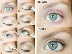 """Eye Make-up Tutorial - """"the NO make-up, make-up look"""" - Every woman should know . - Eye Make-up Tutorial – """"the NO make-up, make-up look"""" – Every woman should know how to do t - All Things Beauty, Beauty Make Up, Hair Beauty, No Make Up Make Up Look, Eye Make Up, Natural Eyes, Natural Makeup Looks, Soft Eyes, Au Natural"""