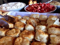 Wedding idea, strawberry shortcake bar.
