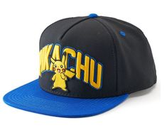 Pokemon Pikachu Snapback Big Boys Cap One Black Multi Size Ages 14+ NEW  https://www.ebay.com/itm/253459013418