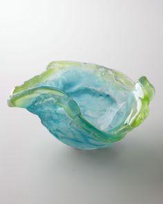 Amanda Brisbane Blue Poppy Bowl