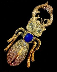 Stag Beetle brooch by House of Bolin.