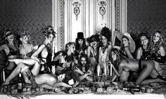 The Last Supper shoot