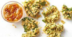 Kale pakoras | Taste.com.au