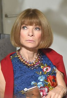 Anna Wintour Photos Photos - Anna Wintour at the Jason Wu fashon show during New…