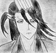 Byakuya Kuchiki, Bleach, Anime, Manga, Tite Kubo, art, drawing, sketch