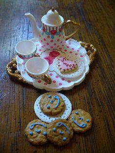 Re-ment tea set-- soso cute!
