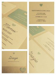 Inviti matrimonio cuore piccolo di MamillaDesign su Etsy