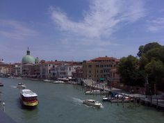 Summer day over the Grand Canal
