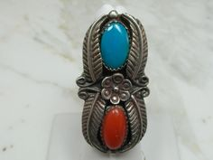 Vintage Estate Native American Artist Signed Ring by MadJacksJewelry on Etsy