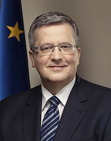 Bronisław Komorowski - Wikipedia Election Date, Presidential Election, Order Of Merit, Lower House, Pope Benedict Xvi, Grand Cross, Head Of State, The 5th Of November, The Republic