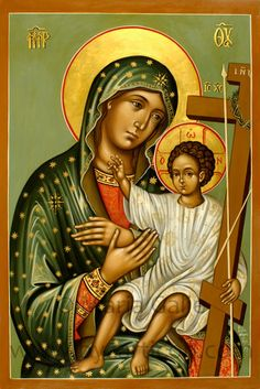 Religious Images, Religious Icons, Religious Art, Pictures Of Christ, Images Of Mary, Blessed Mother Mary, Byzantine Icons, Holy Mary, Madonna And Child