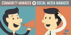 Comparación entre Social Media Manager y Community Manager. Obligaciones, características y aptitudes que deben poseer ambos perfiles en la empresa.
