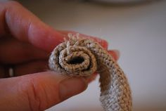 How To make Burlap Flowers or Rosettes | Craftaholics Anonymous