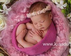 Blume Krone COLLECTION Eliza Neugeborene von CastAwayCollection