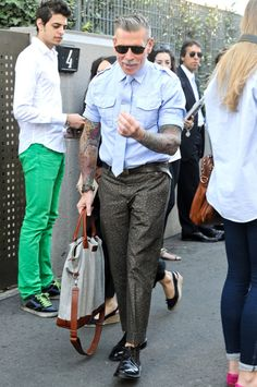 The one and only NICK WOOSTER! Rocking it for real!!!